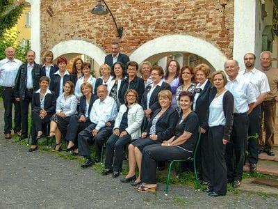 Gruppenbild des Gesangvereins Fehring.