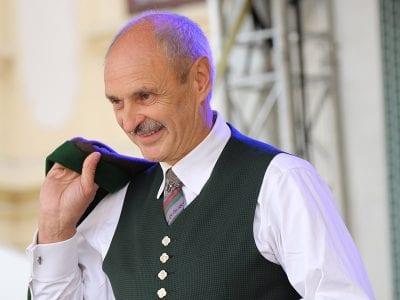 Hubert Fink in steirischer Tracht